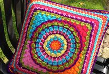 Cojín crochet
