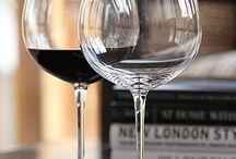 Verres et carafes à vin