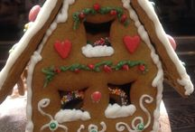 Gingerbread cookies / It's my hobby to make a wonderful beautiful tasty and spicy gingerbread cookies, houses, boxes etc