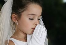 {first communion poses}