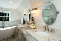 Luxury Bathroom Designs / Check out the most extravagant and luxurious bathroom designs of Northern Virginia. Feel free to save, like, and re-pin.