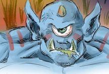 monster´s rude / Meus monstrengos monstrinhos e mosntróides