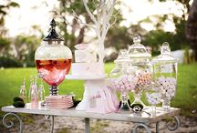 Shabby Chic Tea Party Girls Party Inspiration / Little girls tea party inspiration