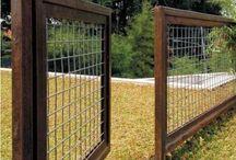 Chicken fence ideas