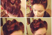 50s hair / by Melissa Sexton Curtin