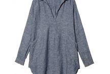 Chambray! / ...the softest, lightest version of denim, we love it for shirts, dresses, jackets...