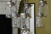 DIY LIGHT FIXTURES / by Rita Radtke Chapman