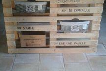 meuble bois fait main