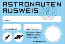 Astronauten, Weltall Projekt