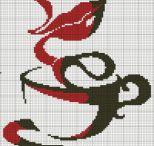 σταυροβελονια καφες