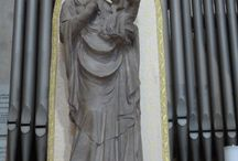 Scuola fiorentina sec. XIV. Madonna col Bambino. Firenze, s. maria Maggiore / Scuola fiorentina sec. XIV. Madonna col Bambino. Firenze, s. maria Maggiore