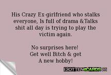 crazy ex's