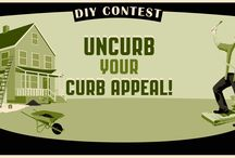 DIY Contest: Uncurb your CURB APPEAL! / June 1 -September 7th 2015 Doing work on the exterior of your home? Installing a new stone walkway? Building a new deck? Painting your house? Creating an outdoor living space? Making raised beds for new flowers or vegetables? Painting your front door a bold color?  Doing something to the exterior of your home that is grabbing the attention of your neighbors?  OVER $1000 IN PRIZES!   LEARN MORE ABOUT THE CONTEST AND READ OFFICIAL RULES HERE: http://mainehardware.com/specials/contests/