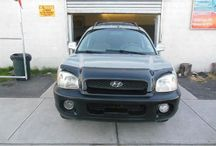 Used 2003 Hyundai Santa Fe for Sale ($3,699) at Paterson, NJ / Make:  Hyundai, Model:  Santa Fe, Year:  2003, Body Style:  Tractor, Exterior Color: Silver, Interior Color: Black, Vehicle Condition: Excellent,  Mileage:141,000 mi, Engine: 6Cylinder V6, 2.7L; DOHC, Transmission: 4 Speed Automatic, Fuel: Gasoline Hybrid, 4Wd/Awd ,Front Side.    Contact: 973-925-5626    Car Id (56664)