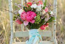 Wedding flowers / by Veronica Sturm (Celeste)
