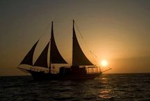 San Antonio II / The ultimate traditional Greek Schooner with a capacity of 50 people creates a unique romantic. at Protaras, Cyprus, Green Groove Bay!