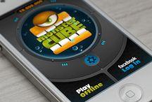 Mobile Game Menu / Mobile games menu design.