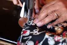 Talent : San Miguel Designs / San Miguel Designs´ seamstresses are the best in San Miguel de Allende! Each day, they arrive with their arms full of handmade designs and often with their children--always well behaved! / by Abrazos San Miguel Designs