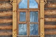Деревянное зодчество, домовая резьба