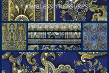 "Majesty by Timeless Treasures / ""Majesty"" by Chong-a Hwang for Timeless Treasures Fabrics"