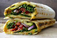 Food- Zucchini Wraps