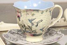 vintige tea cup