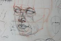 Academic drawing: figure study