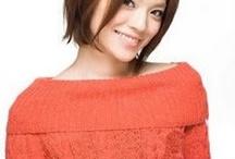 Hair model for Asians / Hair model options