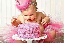 1 year old Princess cakes / Verjaardags taarten voor meisjes die 1 jaar worden!