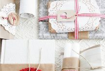 Gift wrapping ideas and DIY / Ideas and how-to gift wrapping ideas