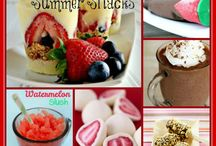 Frozen summer snacks