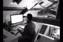 Behind the scenes at Llama HQ / Images of Behind the Scenes at our Award Winning Architecture & Design Practice.