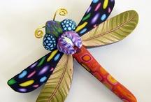 AClay Dragonflies
