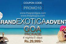 GRAND EXOTICA ADVENTURE / Adventure in Goa Package.