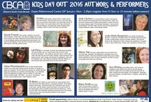 Author Events / Author presentations, workshops, festival and other fun events