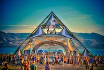 Festival Art Installations / Ideas for our Temple of the Divine MUSE