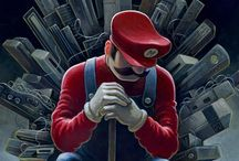 Video Game Artwork / Art based on videogames