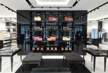 "Ermanno Scervino store / Vetreria Bazzanese has furnished the glass interiors for Ermanno Scervino - Outlet ""The Mall"" in Tuscany, Italy"