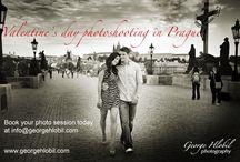 Valentine`s day in Prague / Valentine`s day photo shoot in Prague
