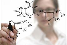 Ingenieria Quimica / en esta serie de imágenes se ilustra el perfil, algunos de los objetivos y retos posibles en la ingeniería química.