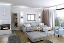 living room · Wohnzimmer · salon