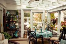 Sunroom + Porch