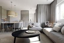 Living room design.