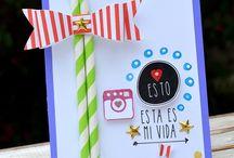 YOY SCRAP by PATTY TANÚZ / Tarjetas creadas para Yoy Scrap, tienda en España de Sellos y muchas cosas más! Visiten: http://yoyscrap.es/tienda/