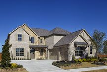 Estates at RockHill // Frisco, TX // Saxony by Shaddock Homes // SH 5248 / Estates at Rockhill is conveniently located in northwest Frisco; one of the fastest growing communities in North Texas. Frisco, Texas was also voted the number one place to live for young families in Texas and is renowned for its outstanding quality of life, city services, and excellent local schools. Estates at Rockhill will have a centrally located two-acre park with an amenity center and open common area.