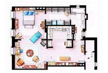Movie/series apartments