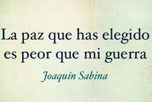 Joaquín Sabina / by Carla Isabella