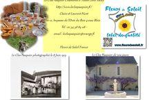Avant/Après ... chambres d'hôtes & gîtes Fleurs de Soleil France / Travaux , restauration , histoire , maisons d'hôtes , patrimoine ,