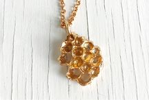 Save the Bees, Hive Colony Collapse and Honeycomb Jewelry / Bees, Bee Keeping, Honey Bees and Honeycomb Jewelry
