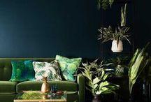 G R E E N Interior Design Inspiration